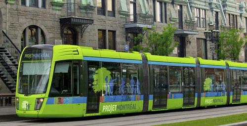 un tramway pour Montréal!