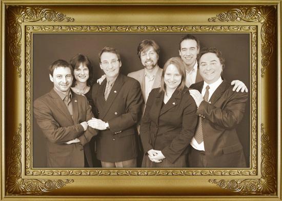 Équipe des élus de Projet Montréal dans le Plateau-Mont-Royal en 2009