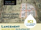 Invitation au lancement du plan de quartier vert dans le district de DeLorimier