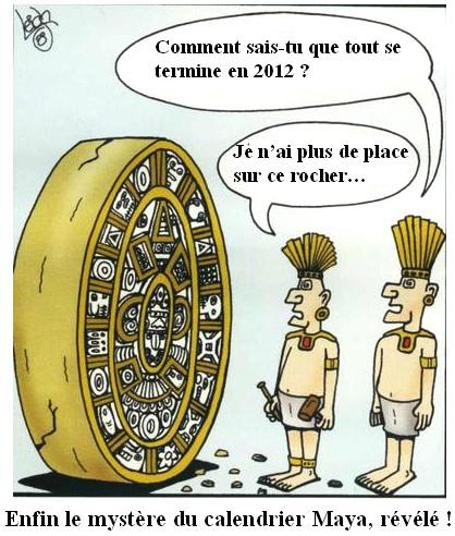 les mystères du calendrier maya