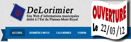 Lancement d'un site Web dédié au district de DeLorimier