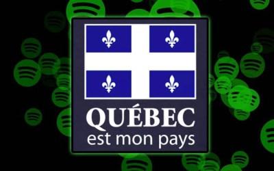 Indépendance du Québec sur Spotify