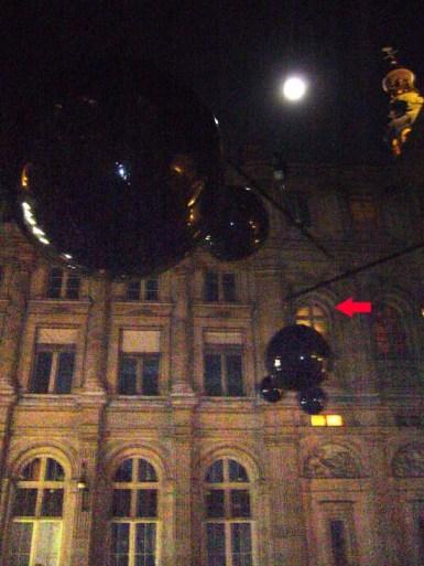 Hôtel de Ville de Paris durant la Nuit Blanche