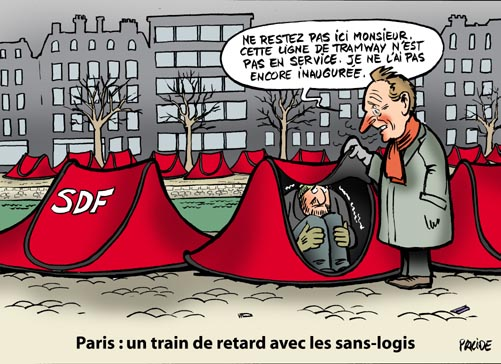 delanoe et les SDF