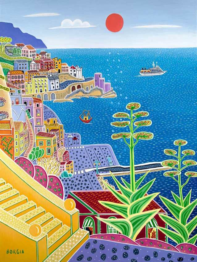 Amalfi, 48 x 36 inches