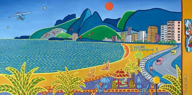 Ipanema, 24 x 48 inches
