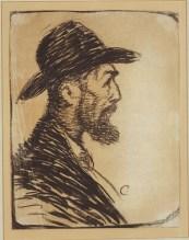 Ramon Pichot - c. 1898 - Carbonet sobre paper - 33 × 25,5 cm - col·lecció privada