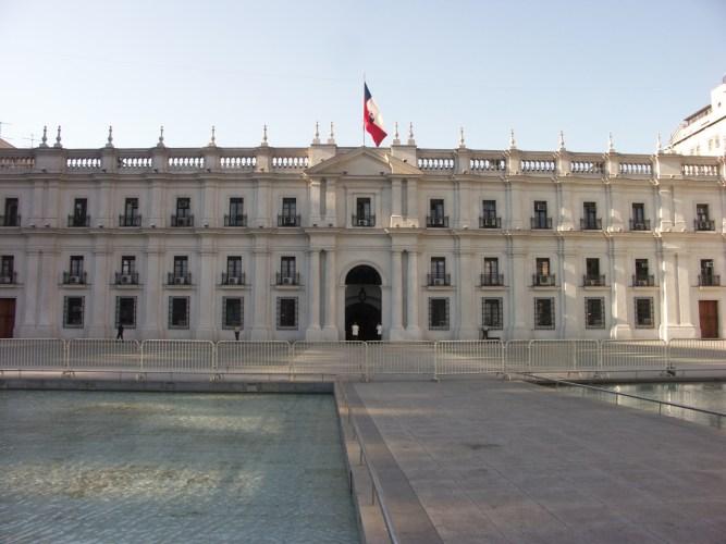 Santiago, la casa de la Moneda