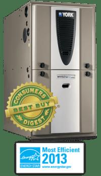York High Efficient Gas Furnaces | Carleton Refrigeration