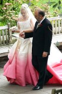 Gwen-Stefani-wedding-ombre-dress-John-Galliano