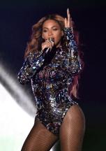 Beyonce en el escenario