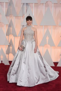 Felicity Jones 87th Annual Academy Awards - Arrivals