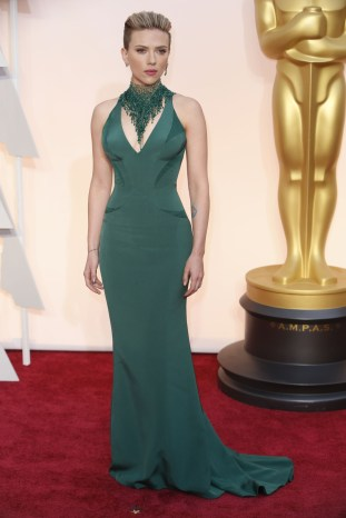 Scarlet Johansson Oscars 2015