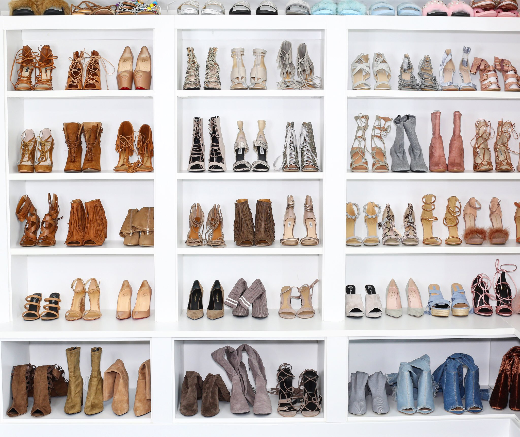 ORGANIZING MY SHOE CLOSET! HOME TOUR SERIES