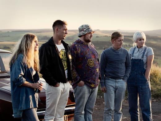 Chanel Cresswell as Kelly, Michael Socha as Harvey, Andrew Ellis as Gadget, Thomas Turgoose as Shaun and Danielle Watson as Trev