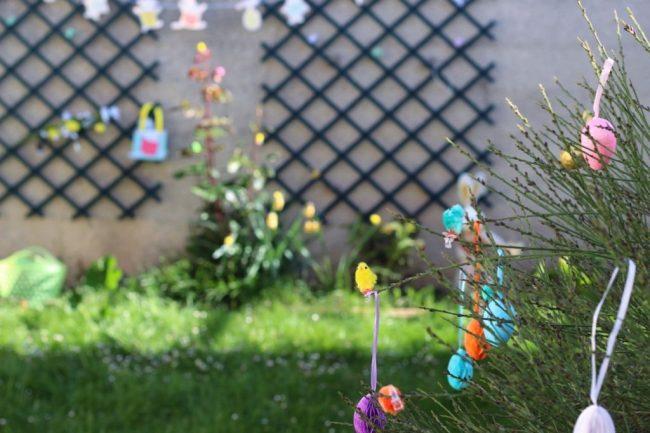 mes décorations de pâques 2017