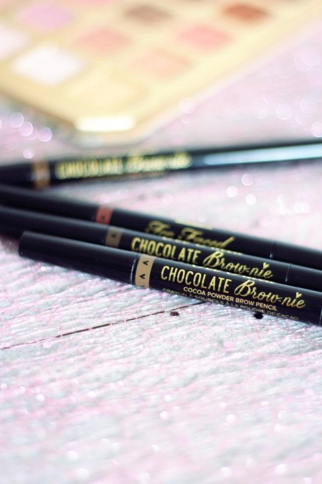 chocolate brow nie too faced mon avis coup de coeur