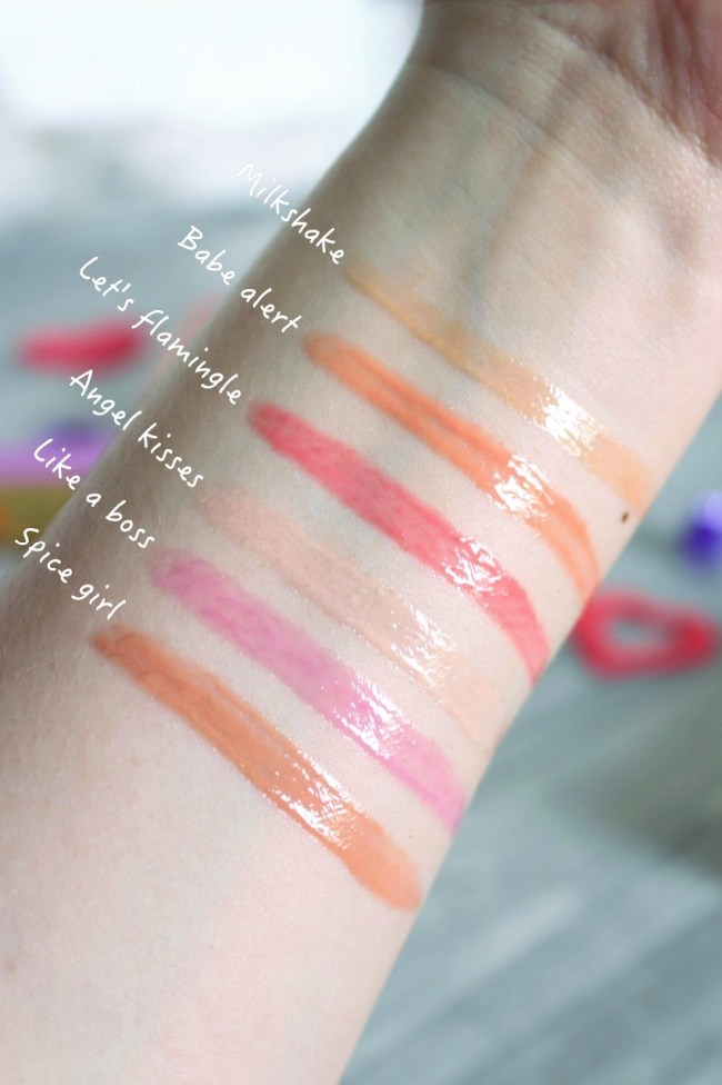 lip injection glossy too faced avis swatch