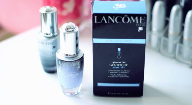 advanced genifique sensitive lancôme avis et test