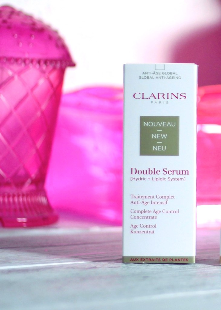 nouveau double sérum clarins anti âge intensif
