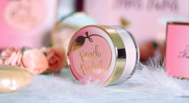 poudre libre peach perfect too faced avis
