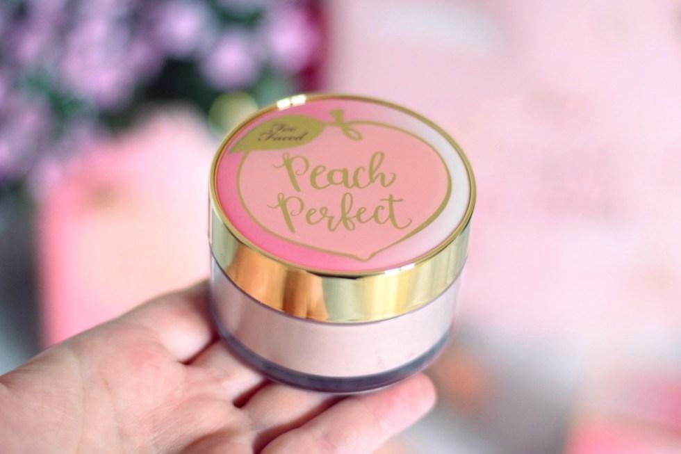 poudre libre peach perfect too faced avis