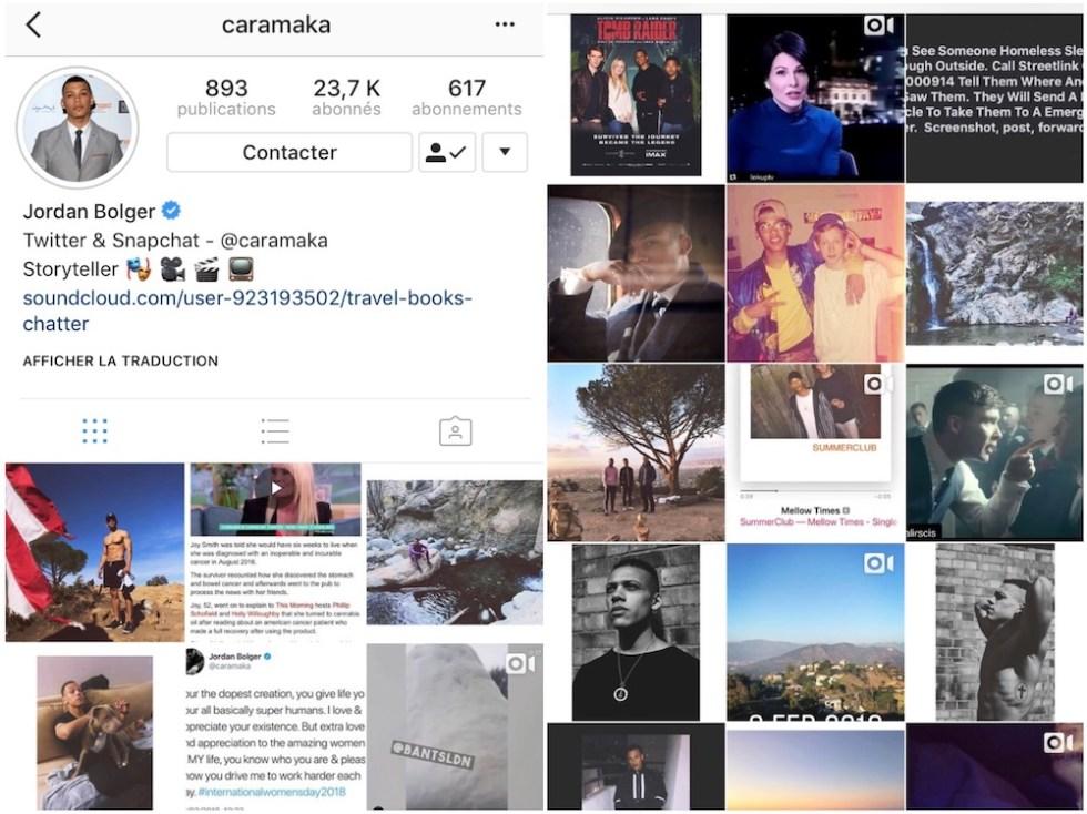 comptes instagram favoris