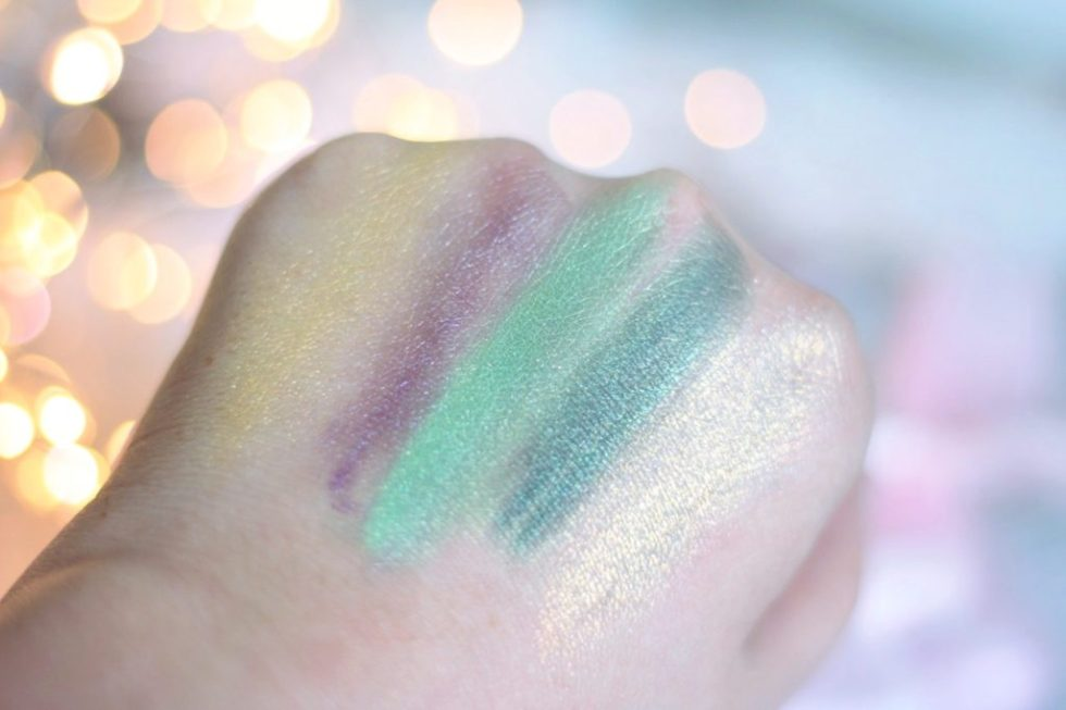 pigments paillettes glitters shimmer nyx avis swatches