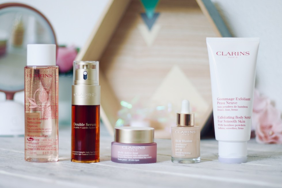 routine beauté Clarins grand air