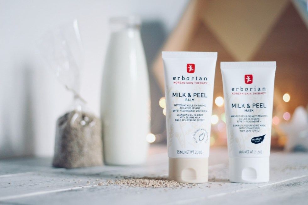 milk & peel Erborian avis