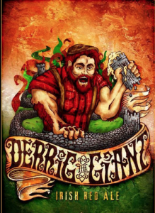 Chaos Mountaing Brewing Derrig the Giant artwork