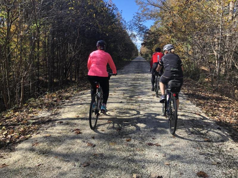 High Bridge Trail State Park • Carlin the Cyclist
