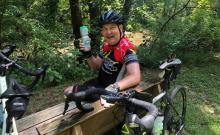 Riding through Sarcoidosis • Carlin the Cyclist