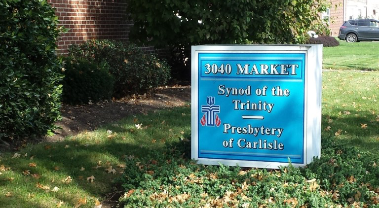 Synod of the Trinity / Presbytery of Carlisle sign
