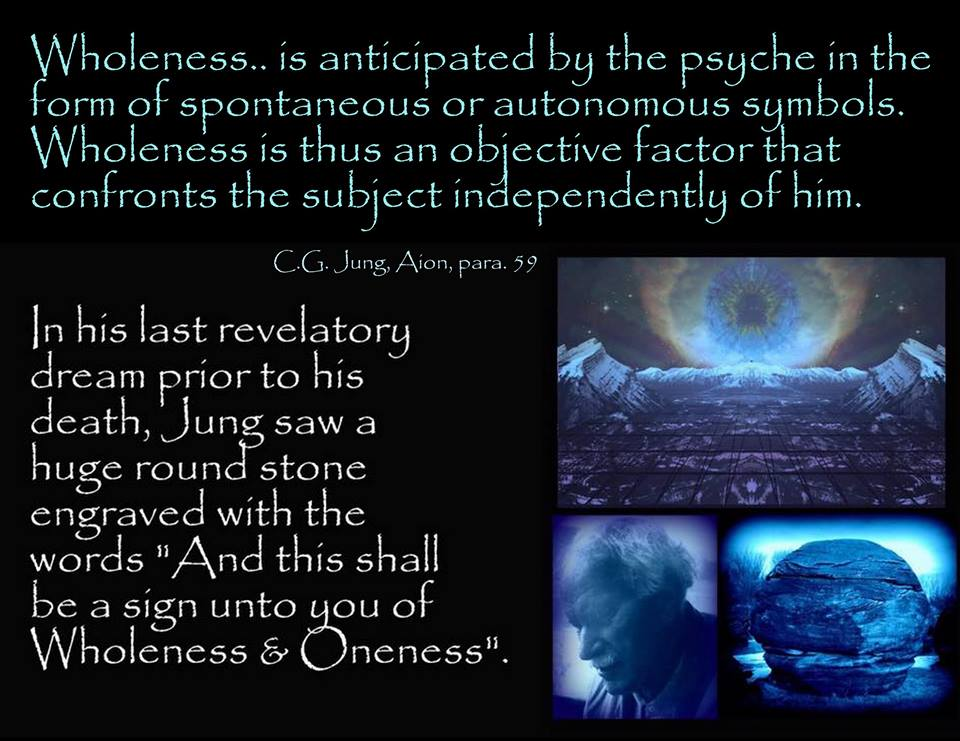 Carl Jung On Wholeness And Unity Carl Jung Depth Psychology
