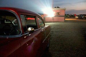 Kanopolis KS drive-in projector