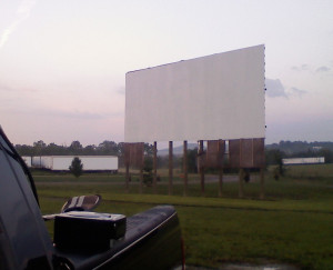 Stardust Drive-In screen