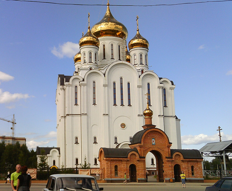 The Cathedral of Stephen of Perm in Skytyvkar