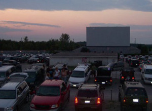 Twilight at the North York Drive-In