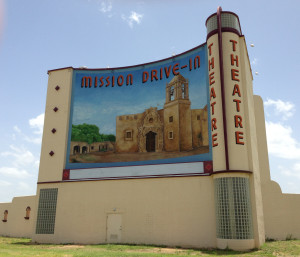 Mission Drive-In sign