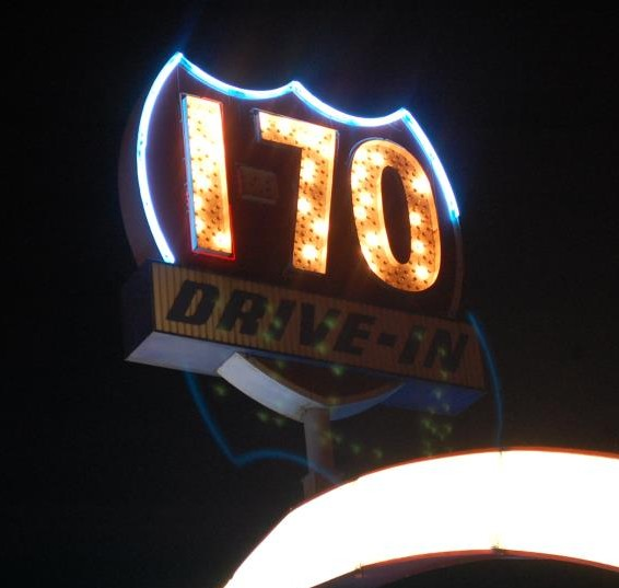I-70 Drive-In Theater sign
