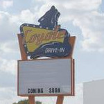 Coyote Drive-In marquee
