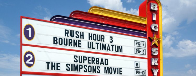 Big Sky Drive-In marquee