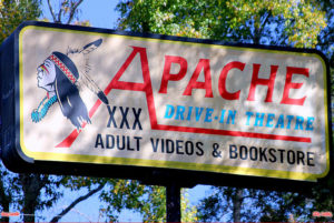 Apache Drive-In sign