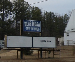 Blue Moon marquee