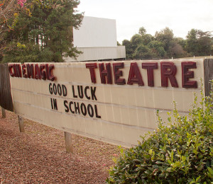 Cinemagic Theatre marquee
