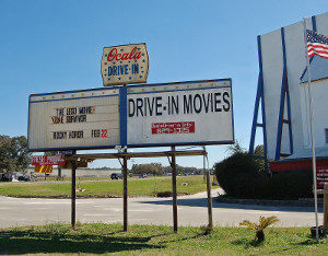 Ocala Drive-In marquee