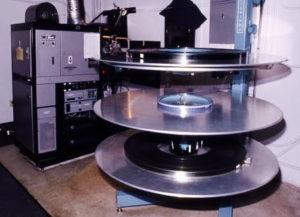 Large film projector reels
