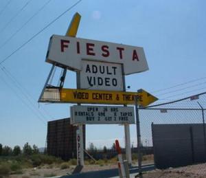 Fiesta Drive-In marquee