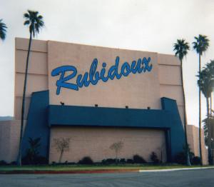 Rubidoux name on the back of its main screen